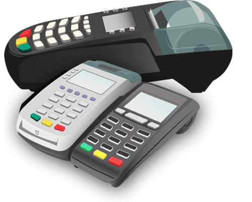 Credit card terminals offered by Punchey