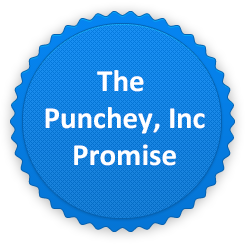 At Punchey we promise to be transparent and give you the best rate we can