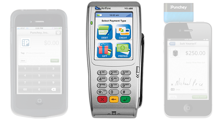 Verifone device